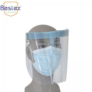 Wholesale OEM PET Ant Saliva 32*22cm Virus Isolation Face Shield from china suppliers