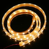 quality hotel bars thin 12v outdoor led strip light waterproof with