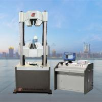Wholesale WAW 600D Computerized Hydraulic Universal Testing Machine Tensile Testing Machine Capacity 600KN UTM from china suppliers