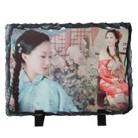 Sublimation Tile & Plates sublimation Photo Slate -Rectangular Stone-smallDetails