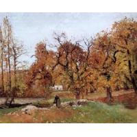Wholesale Impressionist(3830) Autumn_Landscape,_near_Pontoise from china suppliers