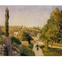 Wholesale Impressionist(3830) Landscape_at_l-Hermitage,_Pontoise from china suppliers