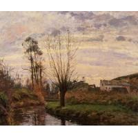 Wholesale Impressionist(3830) Landscape_with_Small_Stream from china suppliers
