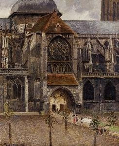 Quality Impressionist(3830) Portal_of_the_Church_Saint-Jacques,_Dieppe for sale