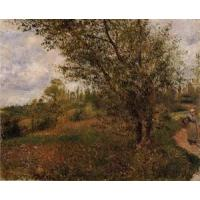 Wholesale Impressionist(3830) Pontoise_Landscape,_Through_the_Fields from china suppliers