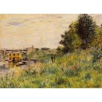 Wholesale Impressionist(3830) The_Banks_of_the_Seine_at_the_Argenteuil_Bridge from china suppliers