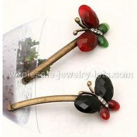 Retro Style Butterfly Hair Slide China Wholesaler