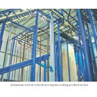 Buy cheap Spray-coating Equi... Aluminum section vertical wood grain coating production line product