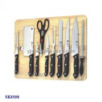 Wooden carving board images wooden carving board for Kitchen knife set of 7pcs with cutting board