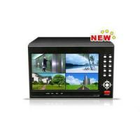China MJPEG 4 Channel DVR with LCD on sale