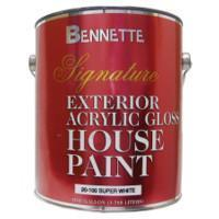 Buy cheap Signature Exterior Acrylic Gloss House Paint Super White 1 Gallon product