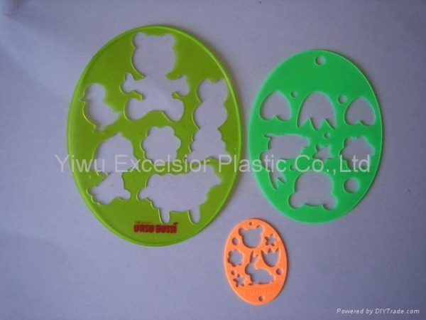 Quality plastic drawing stencil for sale