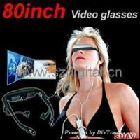 Wholesale 80inch video glasses Digital Video Glasse,private cinema,HeadVideo,video eyewear from china suppliers