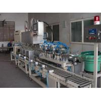 Wholesale Liquid Filling System Tin Filler with 3 Heads (Square Metallic Tin) Model MG-18F-3T from china suppliers