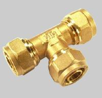 Wholesale Compression fittings for pex pipe Tee from china suppliers