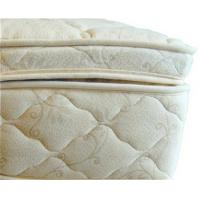 Wholesale Beds and Bedding Natural Latex Mattress Topper Quilted with Organic Cotton and Wool from china suppliers