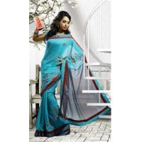 China Bridal Sarees Appealing Party Wear Saree DN345 on sale