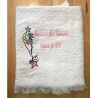 Buy cheap Embroidered Afghans Announcement Afghan from wholesalers