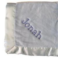 Buy cheap Embroidered Baby Gifts Ultra Plush Micro Fleece Blanket from wholesalers