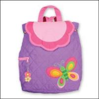 Buy cheap Embroidered Baby Gifts Butterfly Quilted Backpack from wholesalers