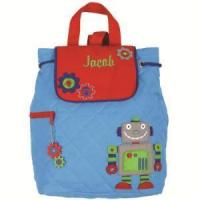 Buy cheap Embroidered Baby Gifts Robot Quilted Backpack from wholesalers
