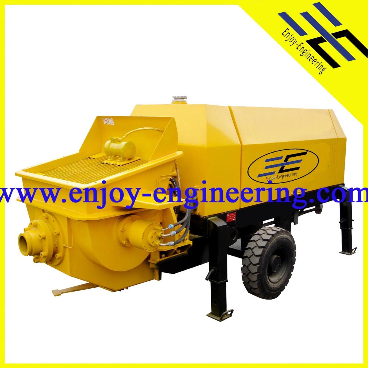 Wholesale CONCRETE TECHNOLOGY Electric Small Concrete Pump from china suppliers