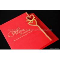 Buy cheap Wholesale Custom Wedding Invitation Card Christmas Card from wholesalers