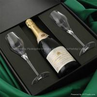 Buy cheap Wholesale Custom Wine Boxes & Boxes For Wine Bottles With Cardboard Dividers from wholesalers