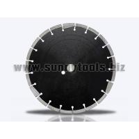 Wholesale Concrete Cutting Diamond Saw Blades With Deep Drop Segment (Low Protection Teeth) from china suppliers