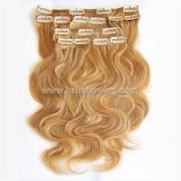 Buy cheap Hair extension clip in hair extension from wholesalers