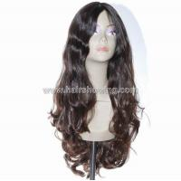 Buy cheap Jewish wigs S210A 26inch Natural color Mongolian hair wig from wholesalers