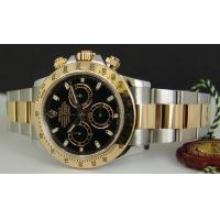 Wholesale ROLEX Rolex 2-Tone Daytona Black Dial Watch from china suppliers