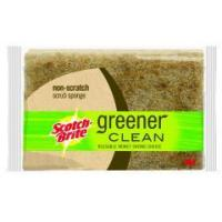 Buy cheap 3M CORPORATION - Scotch-Brite Greener Clean Natural Fiber Non-Scratch Scrub Sponge from wholesalers