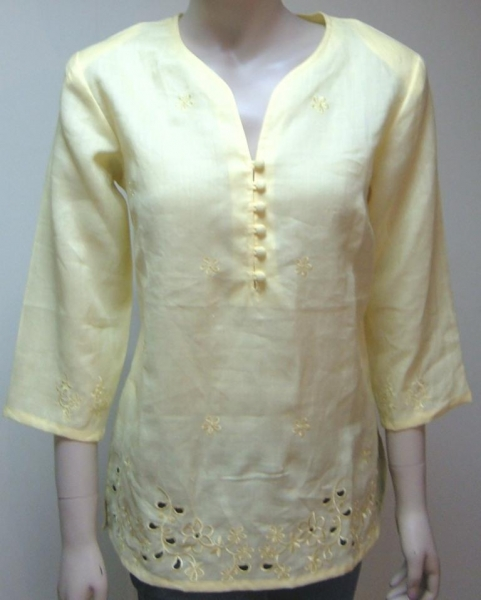Ladies Linen Blouse 15