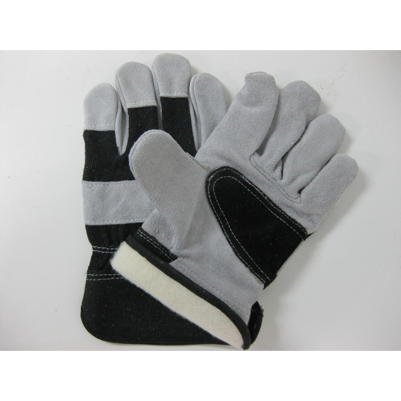 Buy cheap Cow split leather glove product
