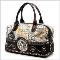 Wholesale Fleur-de-lis Paisley Satchel from china suppliers
