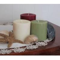 Wholesale soy pillar candle 3x3 from china suppliers