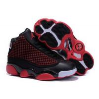 Wholesale Kids Air Jordan 13 Black Red from china suppliers