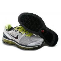 Wholesale Kids Nike Air Max 2009 IV White Black Gray YellowGreen from china suppliers