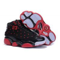 Wholesale Kids Air Jordan 13 Black Red White from china suppliers
