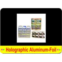 Buy cheap HOLOGRAPHIC ALUMINIUM FOIL from wholesalers