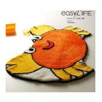 Buy cheap Bathroom Accessory Lovely Orange Crab Non-slip Bath Rug L2211 from wholesalers