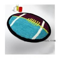 Buy cheap Bathroom Accessory Lovely Rugby Football Bathroom Rug L2203 from wholesalers
