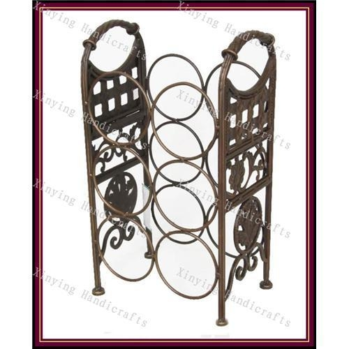 Wrought iron floor wine racks wine racks 38883765 - Wine racks wrought iron floor standing ...