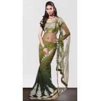 China Partywear Sarees (117) on sale