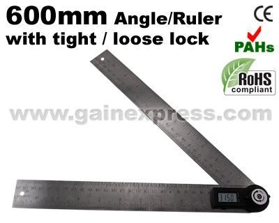 how to use digital angle finder