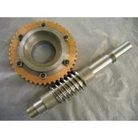 Buy cheap dual-lead worm gear pair for precision transmission from wholesalers