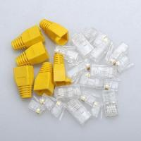 Wholesale RJ45 connector 8p8c plug CAT5e CAT6 from china suppliers