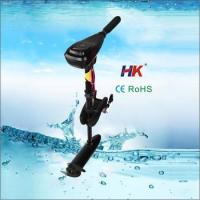 Durable marine electric motor with less noise for fishing
