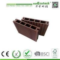 Exterior wide groove wpc decking board hollow decking for 6 inch wide decking boards